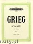 Ok�adka: Grieg Edward, Sonata in E minor Op.7 (Pf)
