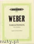 Okładka: Weber Carl Maria von, Variations for Viola and Orchestra