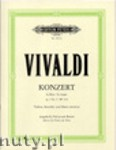 Okładka: Vivaldi Antonio, Concerto in G Op. 3 No. 3 RV 310 for Violine, Streicher und Basso continuo (Version for Violin and Piano)