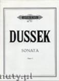 Ok�adka: Dussek Johann Ladislaus, Sonata in Fis Minor Op. 61