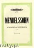 Ok�adka: Mendelssohn-Bartholdy Feliks, Sommernachtstraum Op. 61