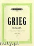 Ok�adka: Grieg Edward, Sonata No.3 in C minor Op.45 (Vln-Pf)