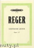 Okładka: Reger Max, 12 Geistliche Lieder, Op. 137