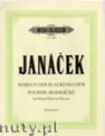 Okładka: Janácek Leos, Marsch der Blaukehlchen für Kleine Flöte und Klavier