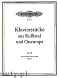 Okładka: , Klavierstücke aus Rußland und Osteuropa