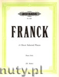 Ok�adka: Franck C�sar, 18 Short Pieces