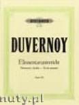 Ok�adka: Duvernoy Jean-Baptiste, Elementary Studies Op.176 (Pf)