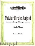 Okładka: Haydn Franz Joseph, Mozart Wolfgang Amadeusz, Album 'Masters for the Young' for Piano