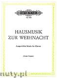 Okładka: Różni, Hausmusik zur Weihnacht für Klavier