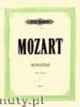Okładka: Mozart Wolfgang Amadeusz, Sonatas for Piano, Vol. 1