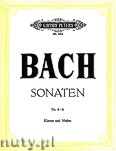 Okładka: Bach Johann Sebastian, 6 Violin Sonatas (Complete edition): BWV 1017 - 1019, Nos. 4 - 6 , Vol. 2