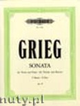 Okładka: Grieg Edward, Sonata in F Major for Violin and Piano, Op. 8