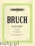 Okładka: Bruch Max, Concerto No.1 in G minor for Violine and Orchestra, Op. 26