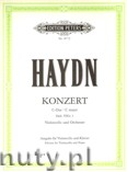 Okładka: Haydn Franz Joseph, Concerto in C Hob. VIIb/1 for Violoncello and Orchestra (transcribed for Violoncello and Piano)