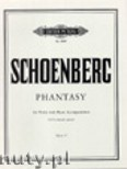 Ok�adka: Sch�nberg Arnold, Phantasy for Violin and Piano, Op. 47