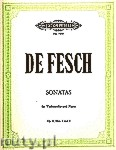 Ok�adka: Fesch Willem de, Sonatas Op. 8 Nos. 4 and 3