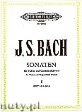 Ok�adka: Bach Johann Sebastian, Sonatas for Violin and Harpsichord (Piano), BWV 1014 - 1016, Vol. 1