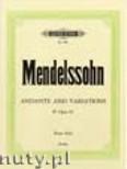 Ok�adka: Mendelssohn-Bartholdy Feliks, Andante & Variations in E flat op. 82