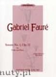 Ok�adka: Faur� Gabriel, Sonata in A Op.13 (Vln-Pf)