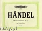 Ok�adka: H�ndel George Friedrich, Concerto No. 13 in F major for Organ and Orchestra