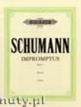 Ok�adka: Schumann Robert, 10 Impromptus on a theme by Clara Wieck, Op. 5
