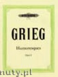Okładka: Grieg Edward, 4 Humoresques Op.6