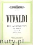 Okładka: Vivaldi Antonio, The Four Seasons Op.8: No.4 in F minor'Winter' (Vln-Pf)