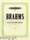 Okładka: Brahms Johannes, Piano Works Vol.1: Sonatas (Urtext)