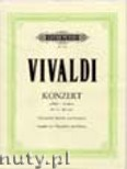 Okładka: Vivaldi Antonio, Concerto in A minor for Violoncello and Piano