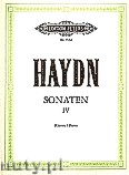 Ok�adka: Haydn Franz Joseph, Sonatas for Piano, Vol. 4