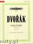 Okładka: Dvořák Antonin, Sonatina in G Op. 100 for Violin and Piano