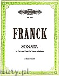 Okładka: Franck César, Sonata in A (Vln-Pf)