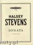 Okładka: Stevens Halsey, Sonata (Trp-Pf)