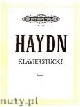 Okładka: Haydn Franz Joseph, Klavierstücke