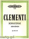 Okładka: Clementi Muzio, Sonatinas Op. 36 Nos. 1-6; Op. 37 Nos. 1-3; Op. 38 Nos. 1-3 for Piano