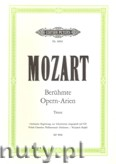 Ok�adka: Mozart Wolfgang Amadeusz, Famous Opera Arias for Tenor (Voice,Pf) (T-Pf)