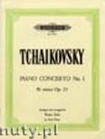 Ok�adka: Czajkowski Piotr, Piano Concerto No.1 in B flat minor, Op. 23 (arranged for Piano Solo)