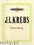 Okładka: Krebs Johann Ludwig, Klavierübung