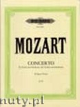 Ok�adka: Mozart Wolfgang Amadeusz, Concerto in B flat major for Violin and Orchestra, K 207