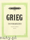 Ok�adka: Grieg Edward, Intermezzo for Violoncello and Piano eg 115