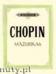 Okładka: Chopin Fryderyk, Mazurkas