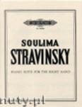 Okładka: Stravinsky Soulima, Suite for the Right Hand