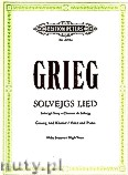 Ok�adka: Grieg Edward, Solvejg's Song for Voice and Piano
