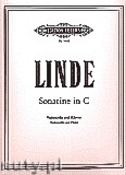 Ok�adka: Linde Hans-Peter, Sonatina in C Major for Violoncello and Piano