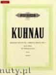Ok�adka: Kuhnau Johann, Biblische Sonate Nr. 3