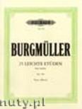 Okładka: Burgmüller Friedrich, 25 Easy and Progressive Studies Op. 100 for Piano