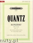 Okładka: Quantz Johann Joachim, Flute Concerto in G Major