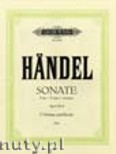 Ok�adka: H�ndel George Friedrich, Trio Sonata in E Op. 2 No. 9 for 2 Violins and Piano