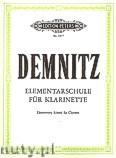 Okładka: Demnitz Friedrich, Elementary Clarinet Tutor