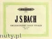 Okładka: Bach Johann Sebastian, Orgelkonzert nach Vivaldi